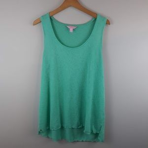 Lilly Pulitzer Sleeveless Top Turquoise XL